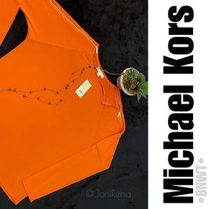 🧡MK Orange/Gold Top   Michael Kors SIZE-XL BNWT🧡